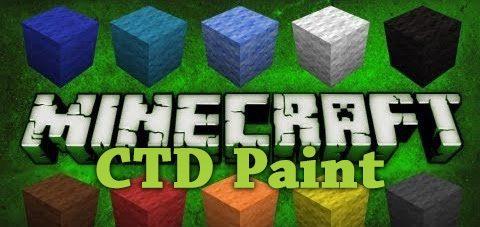 CTD Paint для Майнкрафт 1.11.2