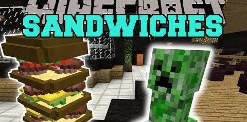 Sandwiches для Майнкрафт 1.11.2