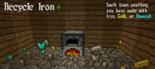 Recycle Iron для Майнкрафт 1.11.2