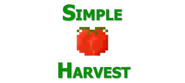 Simple Harvest для Майнкрафт 1.11.2