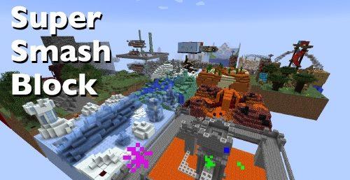 Super Smash Block для Майнкрафт 1.12