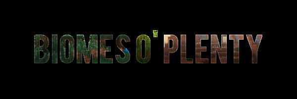 Biomes O' Plenty для Майнкрафт 1.12