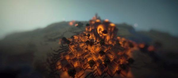 Desert Town для Майнкрафт 1.11.2
