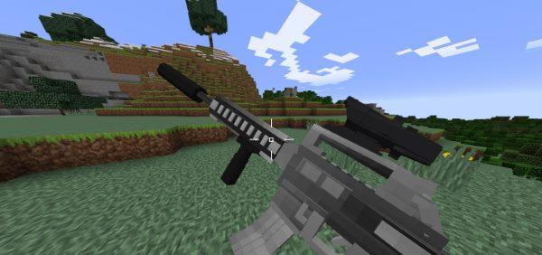 Vic's Modern Warfare для Майнкрафт 1.11.2