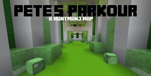 Pete's Parkour для Майнкрафт 1.11.2
