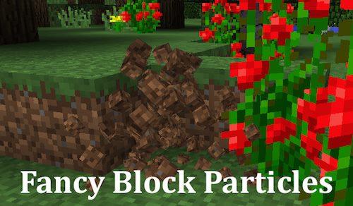 Fancy Block Particles для Майнкрафт 1.12