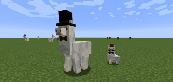 Better Than Llamas для Майнкрафт 1.11.2