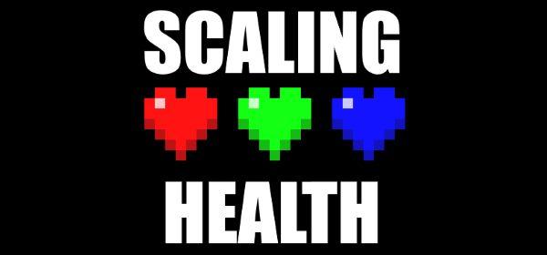 Scaling Health для Майнкрафт 1.12