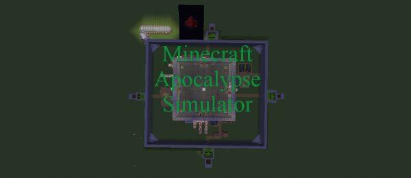Minecraft Zombie Apocalypse Simulator для Майнкрафт 1.12
