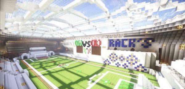Minecraft Soccer для Майнкрафт 1.12