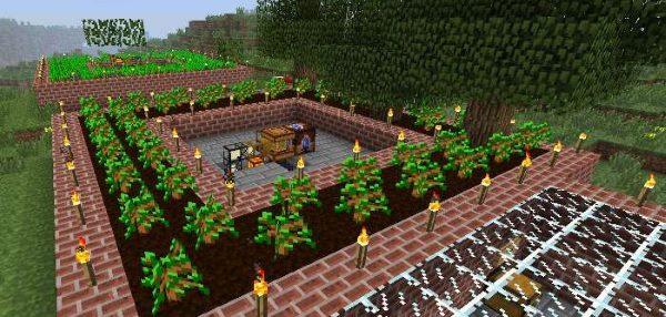 Forestry для Майнкрафт 1.12