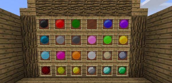 Bouncing Balls для Майнкрафт 1.12