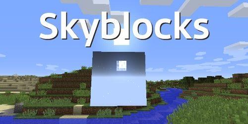 Skyblocks для Майнкрафт 1.12