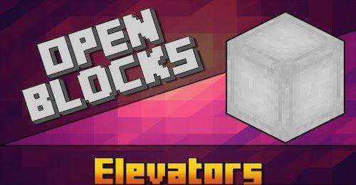 OpenBlocks Elevator для Майнкрафт 1.12