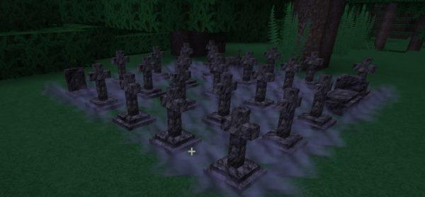 Corail Tombstone для Майнкрафт 1.12