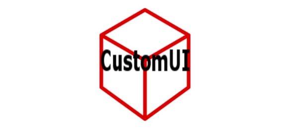 CustomUI для Майнкрафт 1.12
