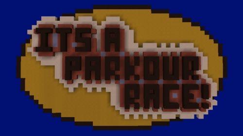 It's A Parkour Race! для Майнкрафт 1.11.2