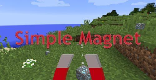 Simple Magnet для Майнкрафт 1.12