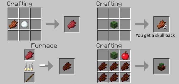 Zombie Steaks для Майнкрафт 1.12