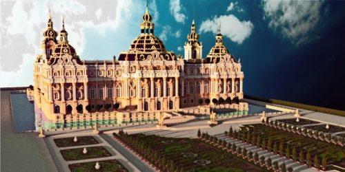 Bernstein Palace для Майнкрафт 1.12