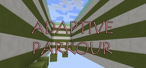 Adaptive Parkour для Майнкрафт 1.11.2