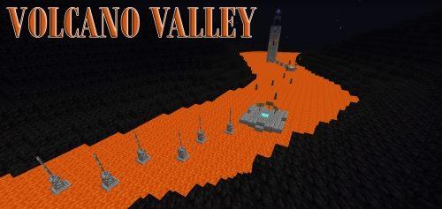 Volcano Valley для Майнкрафт 1.12