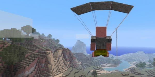 Parachute для Майнкрафт 1.12