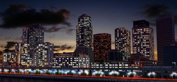 Downtown Seattle для Майнкрафт 1.12