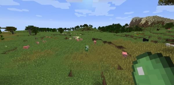 Thrown Slime для Майнкрафт 1.12