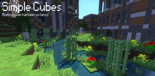 Simple Cubes для Майнкрафт 1.12