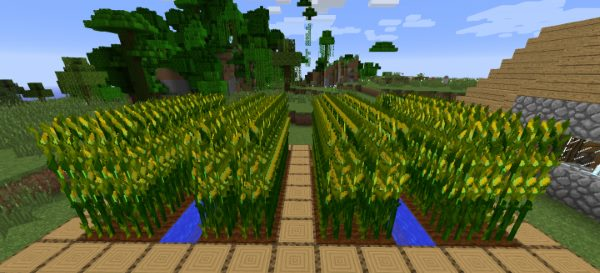 Simply Corn для Майнкрафт 1.12