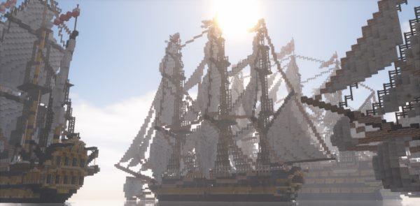 Desdruktiva's British Armada для Майнкрафт 1.12