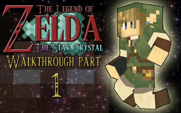 The Legend Of Zelda: The Star Crystal для Майнкрафт 1.11.2