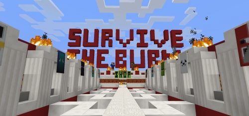Survive The Burn для Майнкрафт 1.12