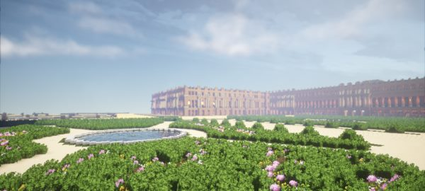 Palace of Versailles для Майнкрафт 1.8.9