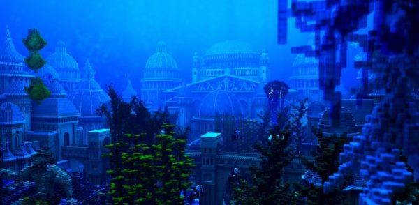 Sapphire Ocean для Майнкрафт 1.12