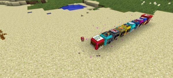 Youtuber's Lucky Blocks для Майнкрафт 1.12