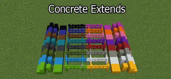 Concrete Extends для Майнкрафт 1.12