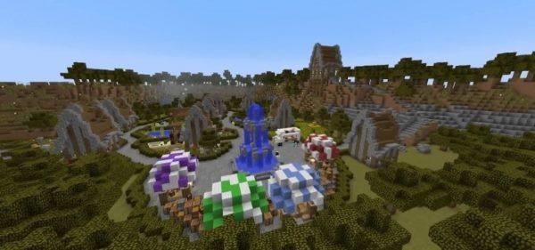 Questtown для Майнкрафт 1.12