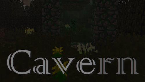 Cavern для Майнкрафт 1.12