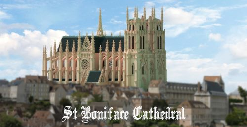 Cathédrale Saint Boniface для Майнкрафт 1.12