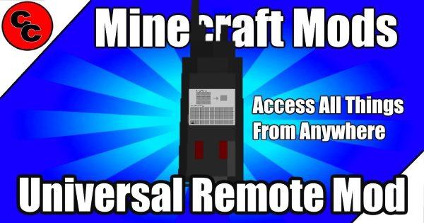 Universal Remote для Майнкрафт 1.12