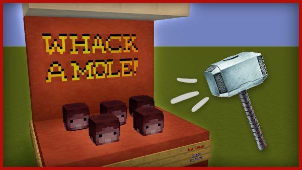 Whack a Mole для Майнкрафт 1.12.1