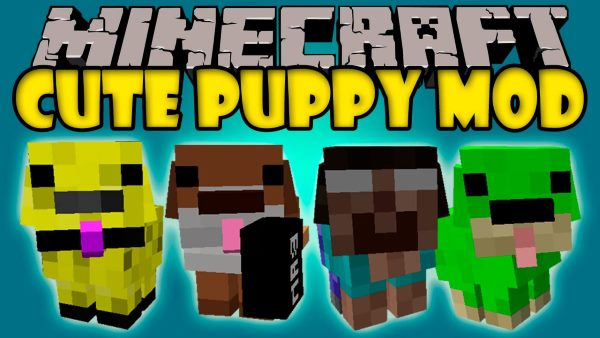 Cute Puppy для Майнкрафт 1.12