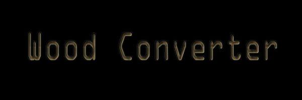 Wood Converter для Майнкрафт 1.12.1