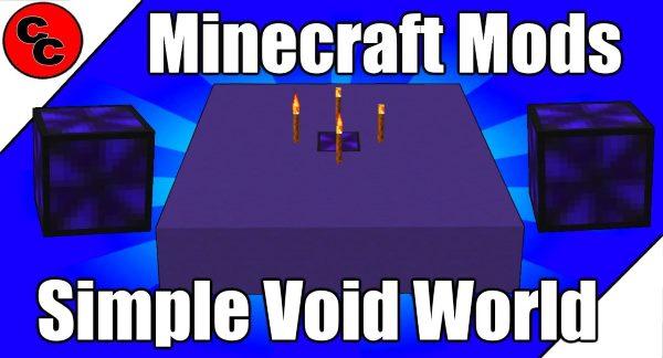 Simple Void World для Майнкрафт 1.12.1