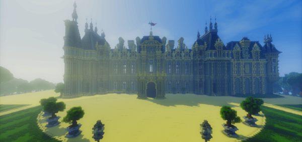 The Waddesdon Manor для Майнкрафт 1.12.1