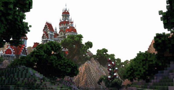 Ruby Palace для Майнкрафт 1.12.1