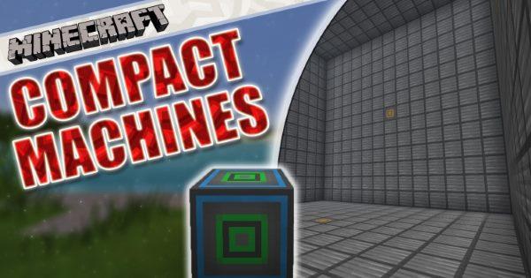 Compact Machines для Майнкрафт 1.12.1