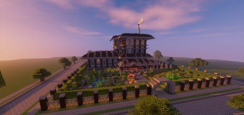 Youngblood Mansion для Майнкрафт 1.12.1